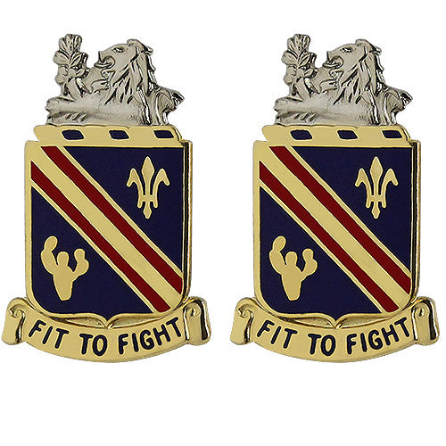 152nd Cavalry Regiment Unit Crest (Fit to Fight)
