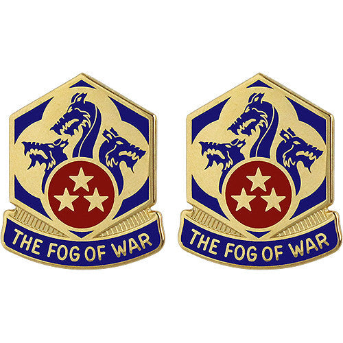 155th Chemical Battalion Unit Crest (The Fog of War)