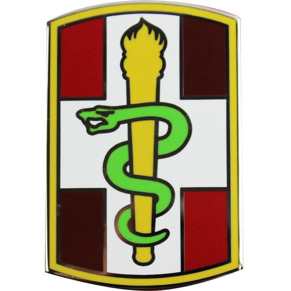 330th Medical Brigade Combat Service Identification Badge