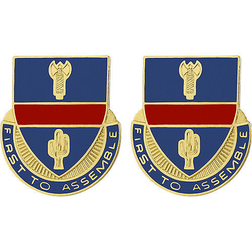 162nd Infantry Regiment Unit Crest (First to Assemble)