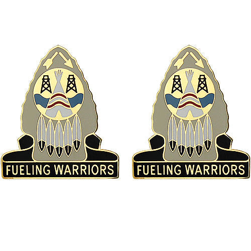 164th Quartermaster Group Unit Crest (Fueling Warriors)