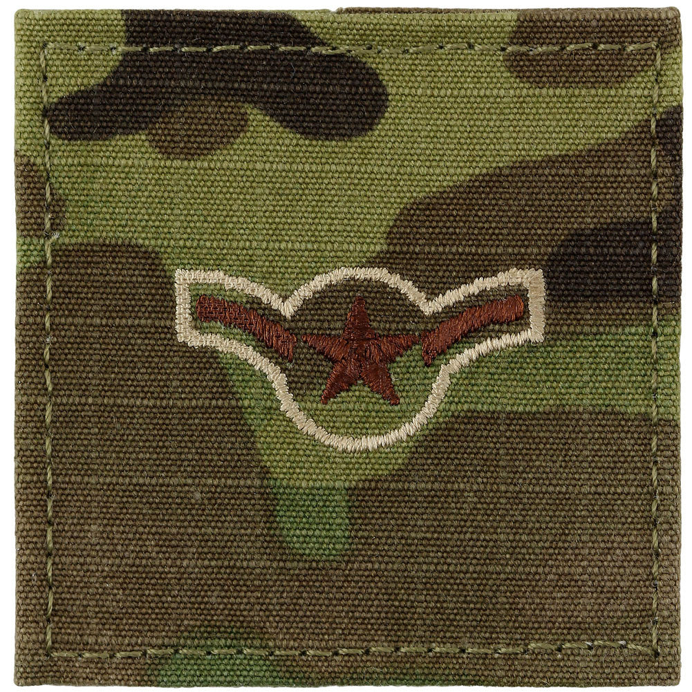 Air Force Multicam Rank - Enlisted