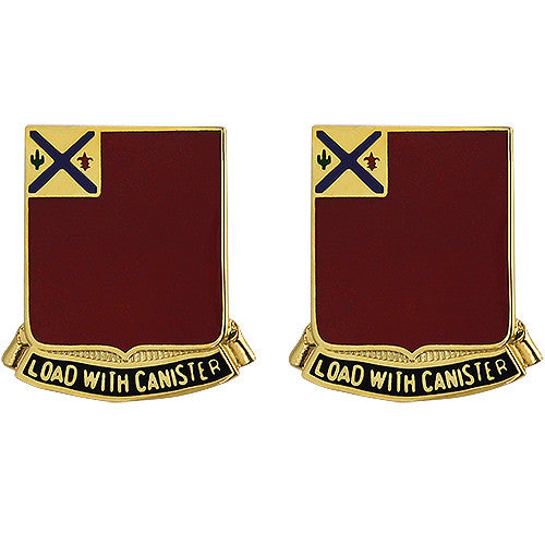 172nd Field Artillery Regiment Unit Crest (Load with Canister)