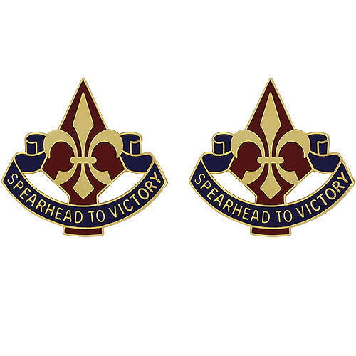 177th Armored Brigade Unit Crest (Spearhead to Victory)