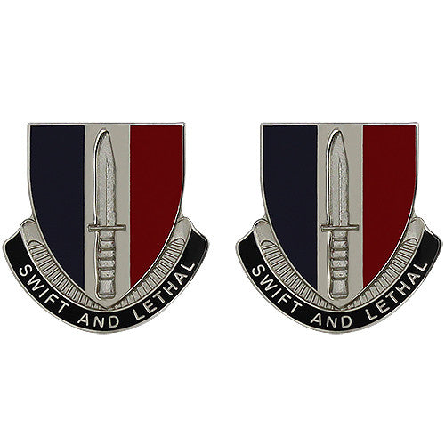 189th Infantry Brigade Unit Crest (Swift and Lethal)