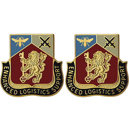 191st Support Battalion Unit Crest (Enhanced Logistics Support)