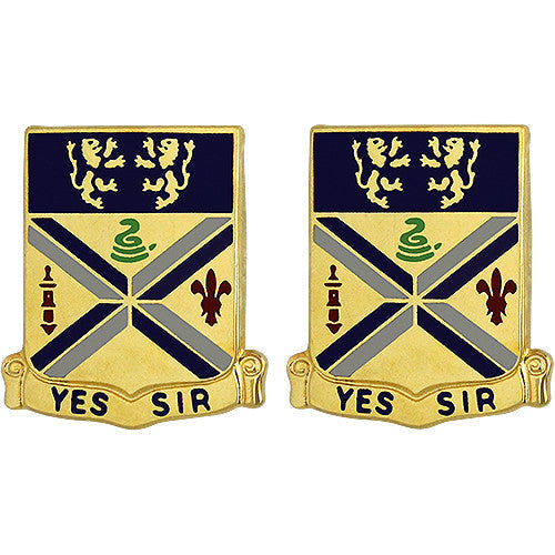201st Field Artillery Regiment Unit Crest (Yes Sir)