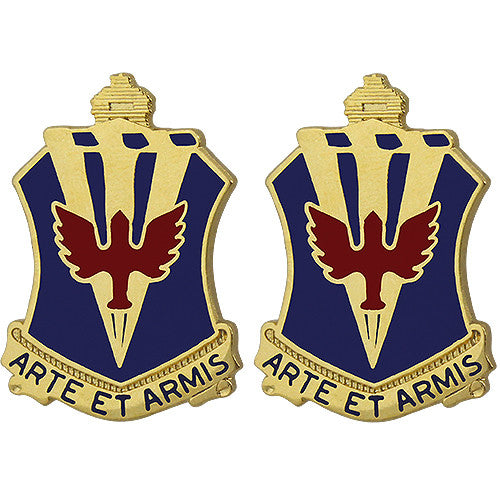 202nd ADA (Air Defense Artillery) Regiment Unit Crest (Arte Et Armis)