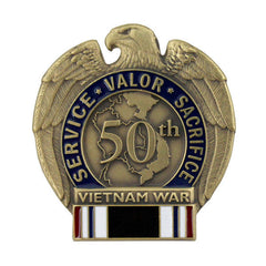 50th Anniversary Vietnam War POW Lapel Pin