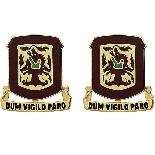 204th ADA (Air Defense Artillery) Regiment Unit Crest (Dum Vigilo Paro)