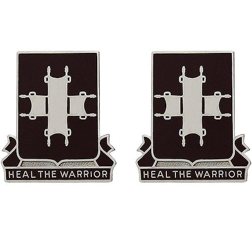 204th Medical Battalion Unit Crest (Heal the Warrior)