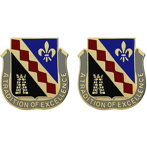 215th Finance Battalion Unit Crest (A Tradition of Excellence)