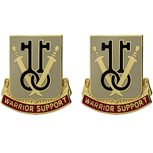 225th Support Battalion Unit Crest (Warrior Support)