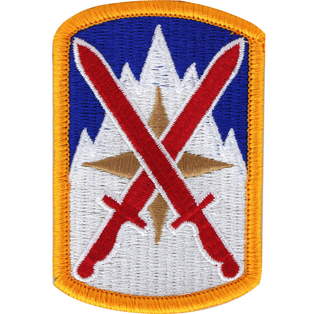 10th Sustainment Brigade Class A Patch