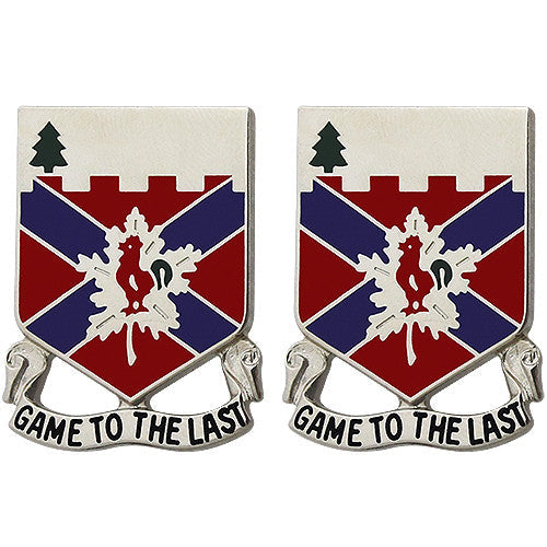 243rd Regiment Unit Crest (Game to the Last)