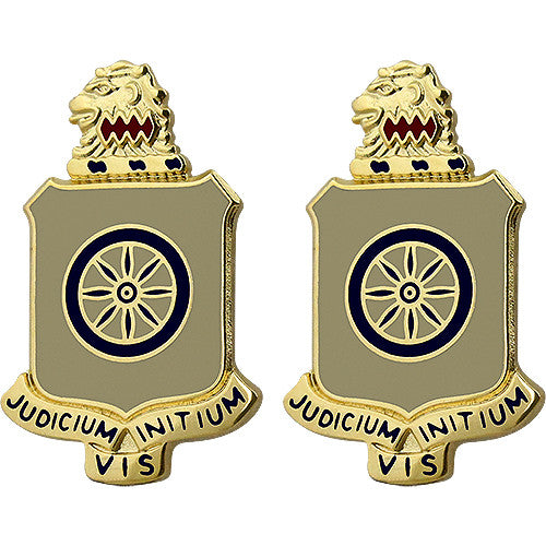 250th Support Battalion Unit Crest (Judicium Initium Vis)