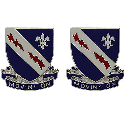 279th Cavalry Regiment Unit Crest (Movin' On)
