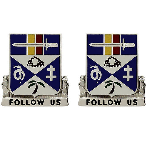 293rd Infantry Regiment Unit Crest (Follow Us)