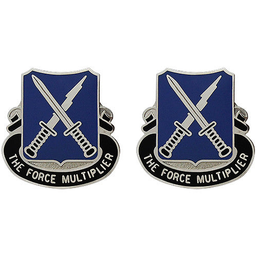 301st Military Intelligence Battalion Unit Crest (The Force Multiplier)