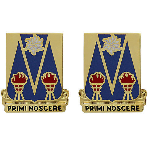 303rd Military Intelligence Battalion Unit Crest (Primi Noscere)