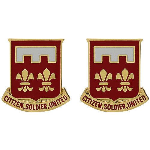367th Engineer Battalion Unit Crest (Citizen, Soldier, United)