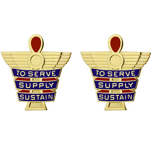 378th Support Battalion Unit Crest (To Serve Supply Sustain)