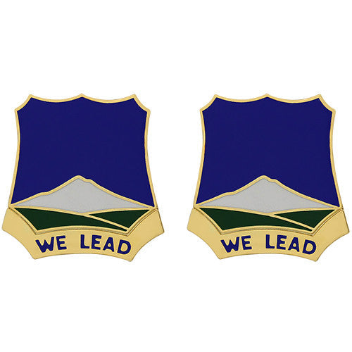 382nd Regiment Unit Crest (We Lead)