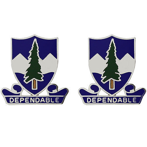 383rd Regiment Unit Crest (Dependable)