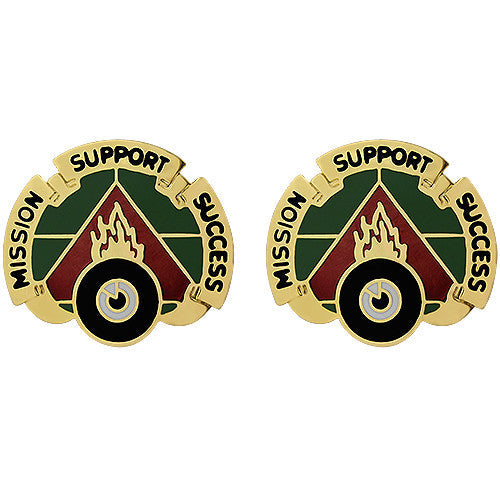 394th Support Battalion Unit Crest (Mission Support Success)