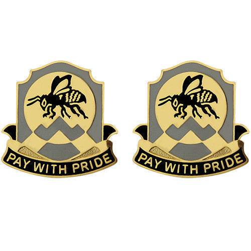395th Finance Battalion Unit Crest (Pay With Pride)