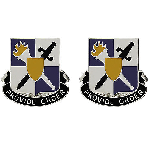 402nd Civil Affairs Battalion Unit Crest (Provide Order)