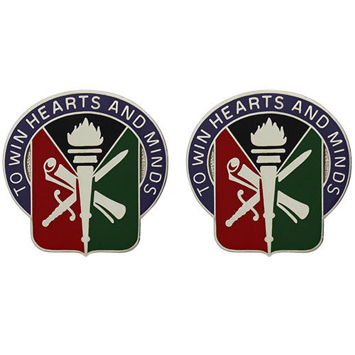403rd Civil Affairs Battalion Unit Crest (To Win Hearts and Minds)