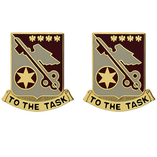 426th Support Battalion Unit Crest (To the Task)