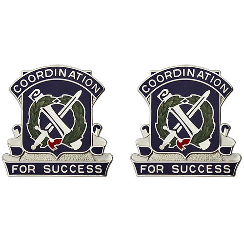 443rd Civil Affairs Battalion Unit Crest (Coordination for Success)
