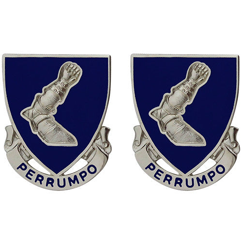 485th Regiment Unit Crest (Perrumpo)
