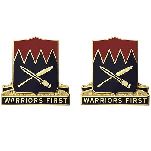509th Personnel Services Battalion Unit Crest (Warriors First)