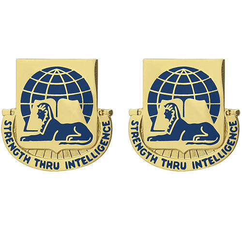 519th Military Intelligence Battalion Unit Crest (Strength Thru Intelligence)