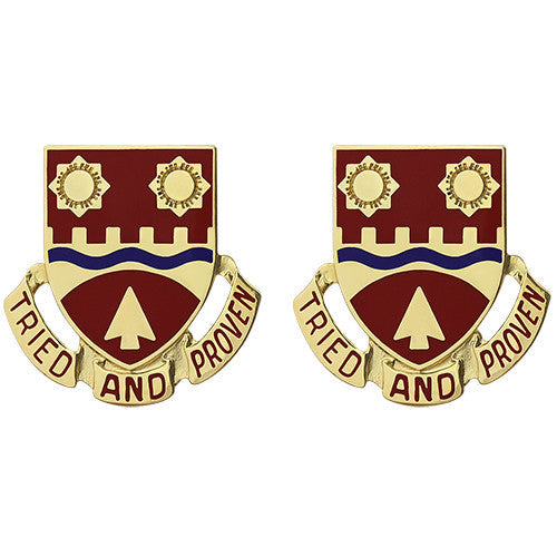 612th Engineer Battalion Unit Crest (Tried and Proven)