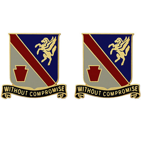 628th Support Battalion Unit Crest (Without Compromise)