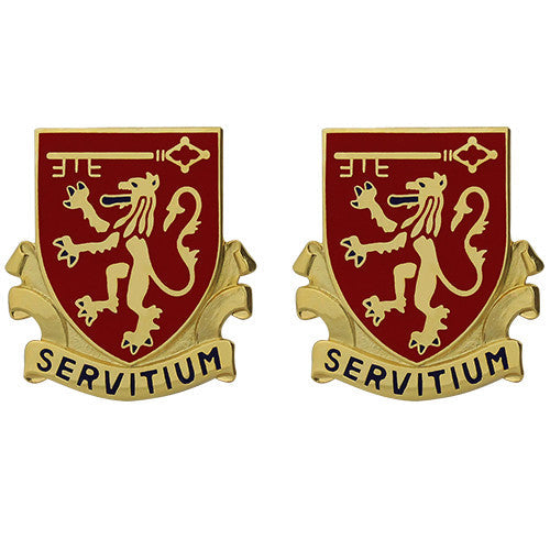 642nd Support Battalion Unit Crest (Servitium)