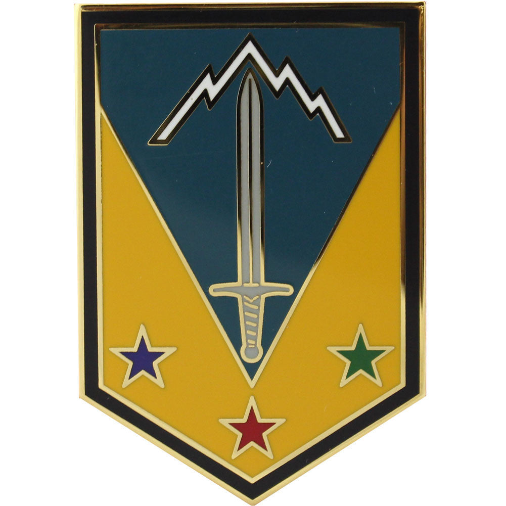 3rd Maneuver Enhancement Brigade Combat Service Identification Badge