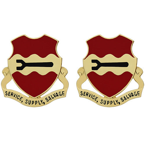 835th Combat Sustainment Support Battalion Unit Crest (Service, Supply, Salvage)
