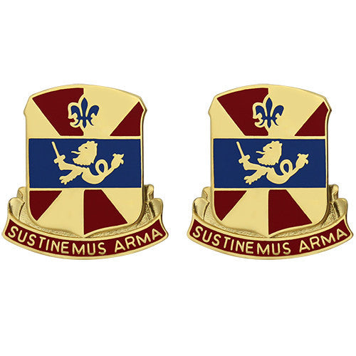 738th Support Battalion Unit Crest (Sustinemus Arma)
