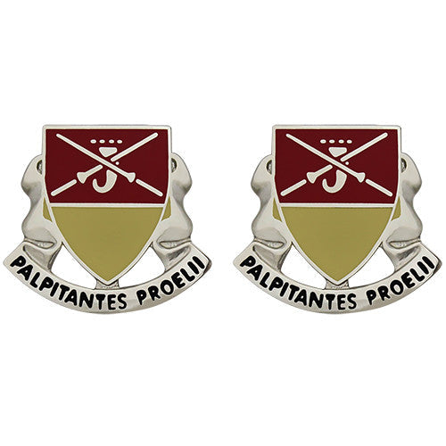 746th Maintenance Battalion Unit Crest (Palpitantes Proelii)