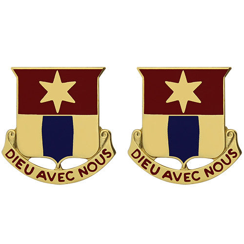 769th Engineer Battalion Unit Crest (Dieu Avec Nous)
