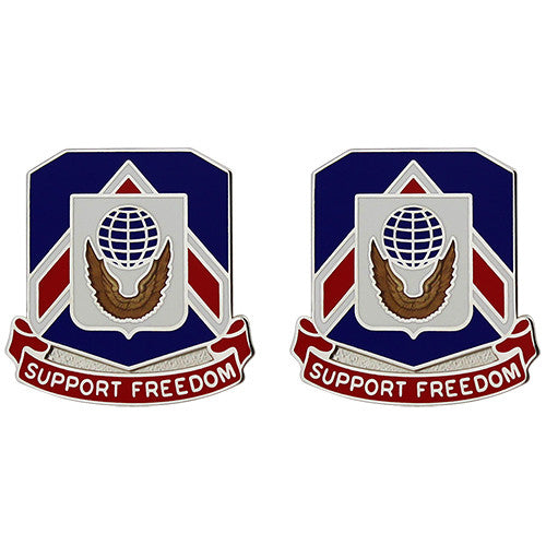 777th Support Battalion Unit Crest (Support Freedom)