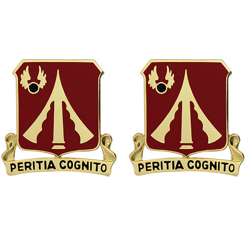 782nd Support Battalion Unit Crest (Peritia Cognito)