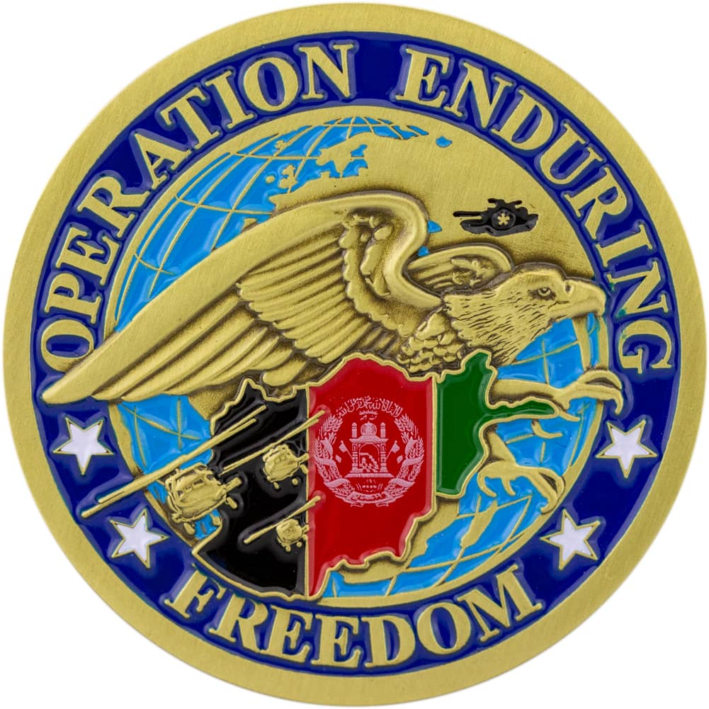 Operation Enduring Freedom - OEF Coin