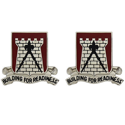 891st Engineer Battalion Unit Crest (Building for Readiness)