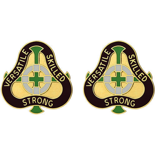 2291st Hospital Unit Crest (Versatile Skilled Strong)